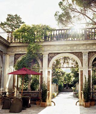 Palazzo Margherita | Bernalda, a small hilltop town near the Ionian Sea in the Basilicata region of Southern Italy