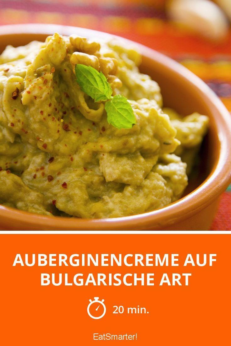 Auberginencreme auf bulgarische Art - smarter - Zeit: 20 Min. | eatsmarter.de