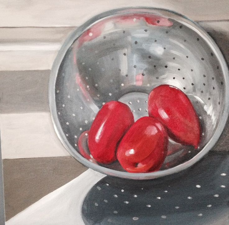 Tomatoes and Colander