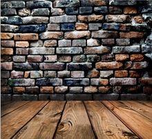 220 см * 150 см новое поступление винил фотографии фон старинные кирпичные стены деревянный пол фото фотостудия фон T8(China (Mainland))