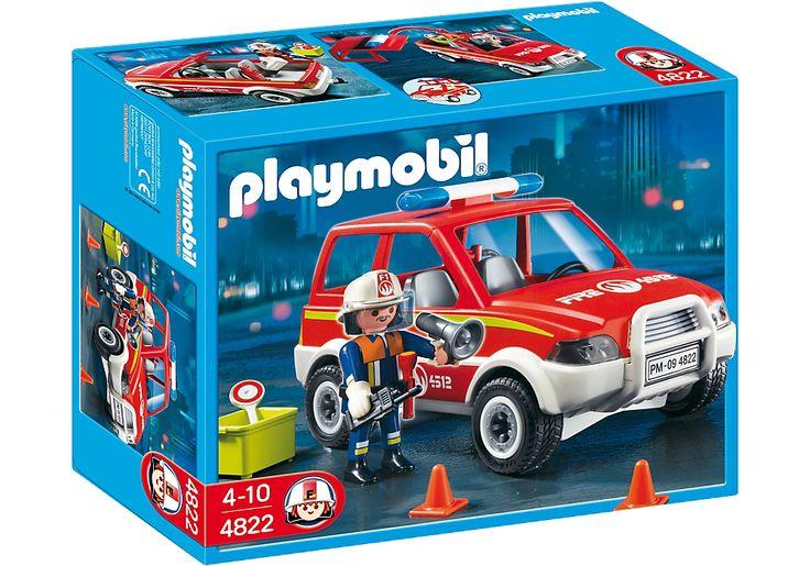 4822 - Voiture de pompier - PLAYMOBIL® France