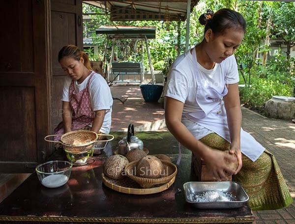 Amita Thai cooking class Bangkok #cooking #thailand