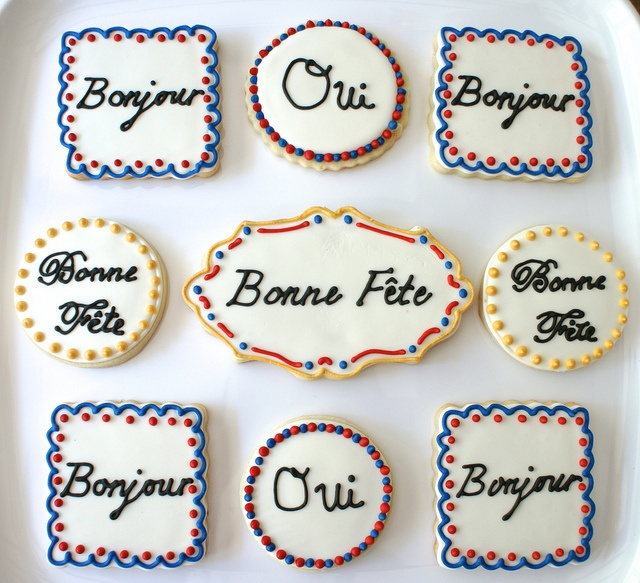 French Lessons #cookies #french #language