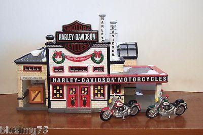 nice to have Dept 56 Snow Village Harley Davidson Manufacturing ...