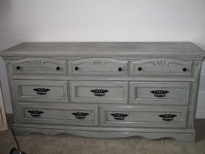 Lots of cool ideas for redoing furniture on Tattered and Inked blog.