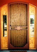 Enclosures Features u0026 Benefits. Security Screen DoorsSouthwestern StyleSteel ... & 19 best Southwestern Styles images on Pinterest | Iron Southwestern ...