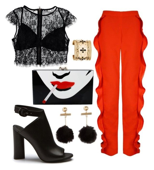 """""""Untitled #9"""" by tripti917 on Polyvore featuring Nasty Gal, Charlotte Olympia and Aurélie Bidermann"""