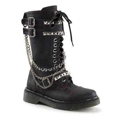 Demonia Rage 315 Womens Combat Boots @ SinisterSoles.com