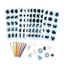 Discount School Supply - Face Painting Stencil Kit