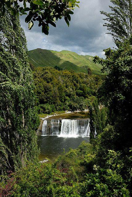 Raukawa Falls, Wanganui, Manawatu-Wanganui, North Island, New Zealand