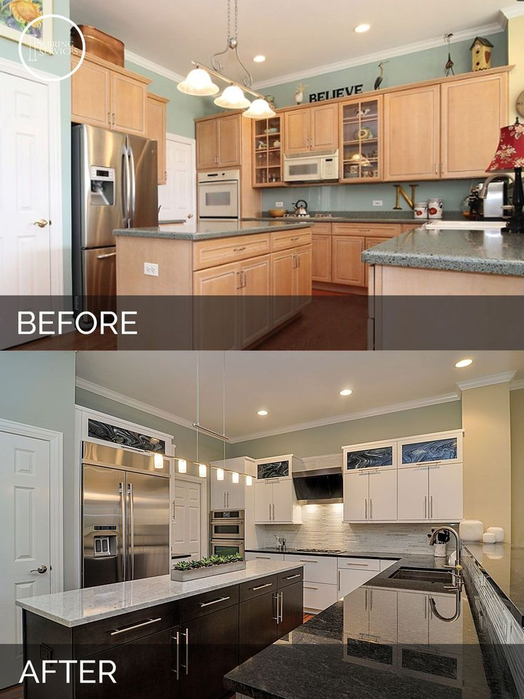 Doug natalie 39 s kitchen before after pictures for Kitchen renovation ideas for your home