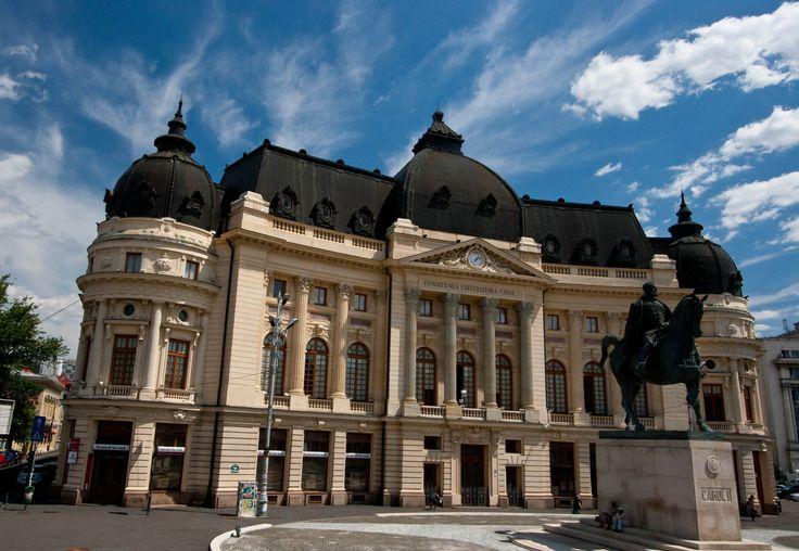 Central University Library Bucharest Carol I King