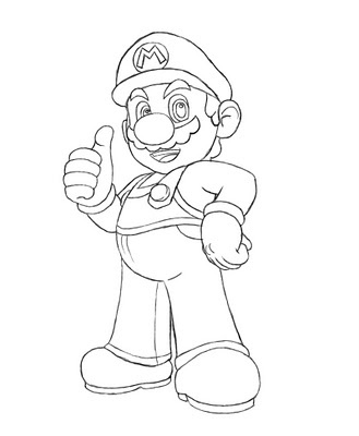 Mario. If you've been following Mario since the beginning, or just like drawing video game/cartoon characters, then this tutorial is for you.