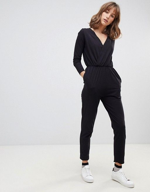 7807a41eeddd People Tree Organic Cotton Jersey Jumpsuit With Long Sleeves ...