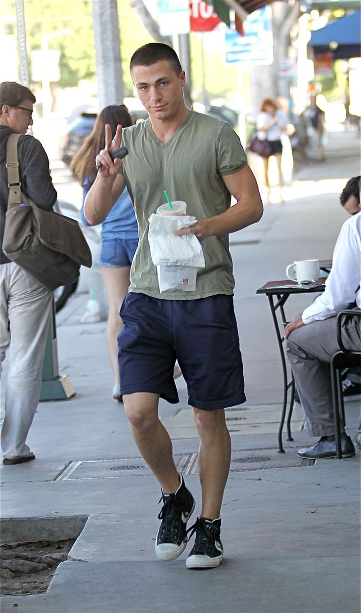 Derek jeter mens hairstyles colton haynes casual hairstyle - Date With Colton