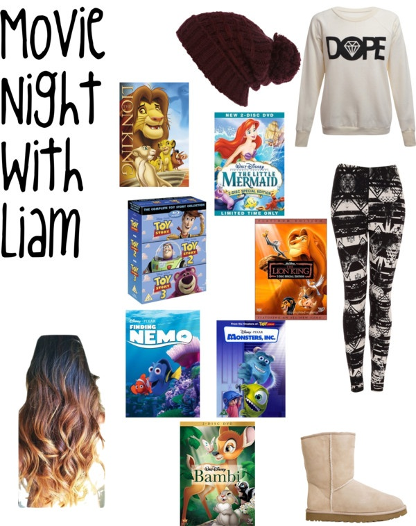 """""""Movie Night With Liam."""" by one-direction-date-outfits ❤ liked on Polyvore"""