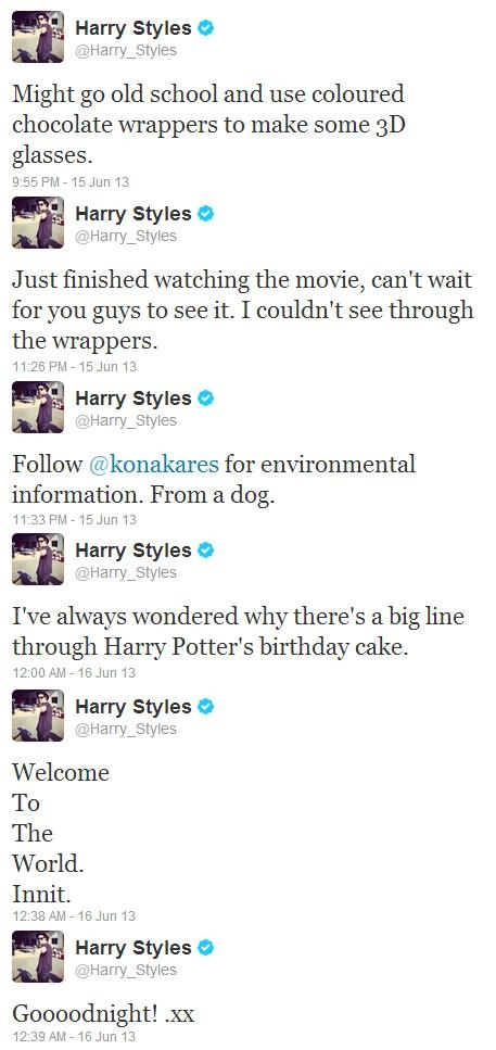 And here we have harry styles everyone