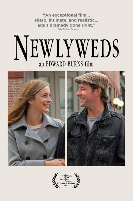 Newlyweds Movie Poster - Edward Burns, Kerry Bishé, Marsha Dietlein Bennett  #Newlyweds, #MoviePoster, #Comedy, #EdwardBurns, #KerryBish, #MarshaDietleinBennett
