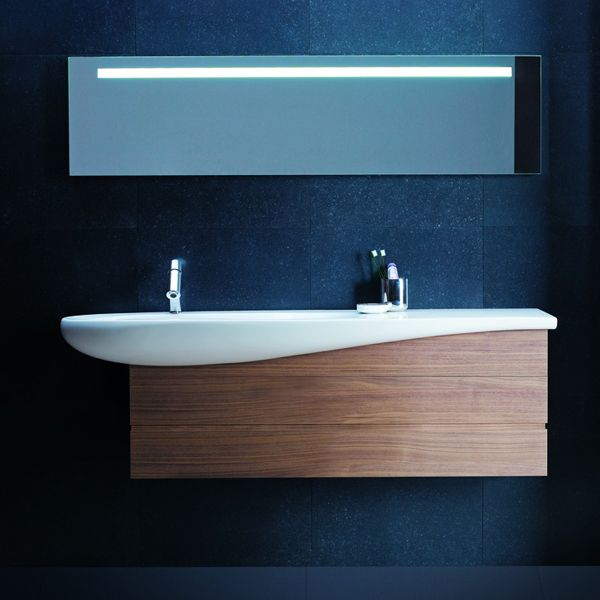 11 best images about salle de bain minimaliste on - Mueble lavabo pedestal ...