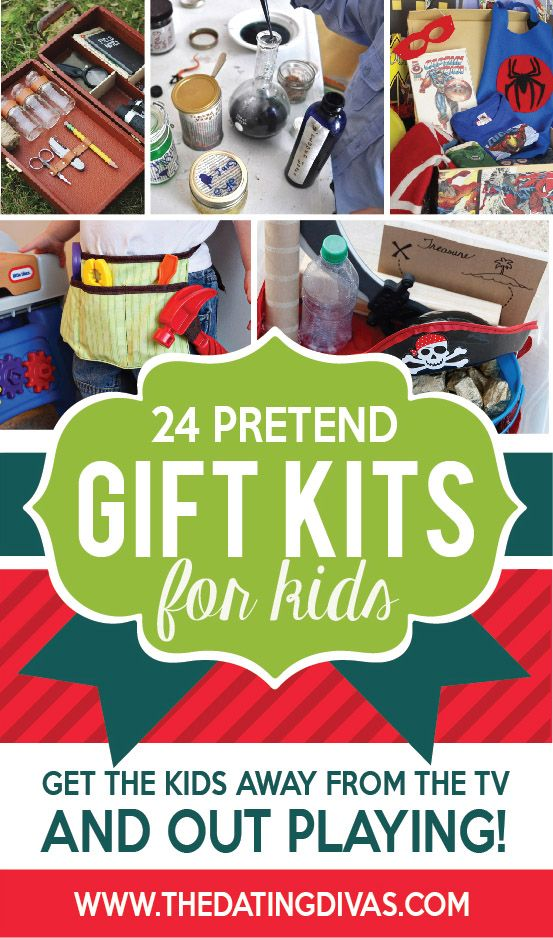 Pretend Gifts Kits for Kids