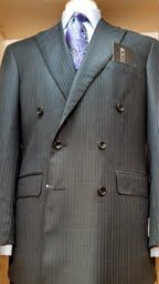 Handcrafted suit from David's Master Collection with Eton shirt & Zegna tie. www.davelleclothiers.com