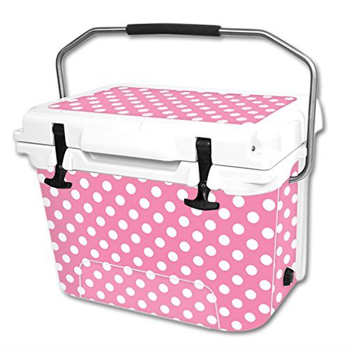 MightySkins Protective Vinyl Skin Decal Wrap for RTIC 20 qt Cooler cover sticker Mini Dots * Read more reviews of the product by visiting the link on the image.