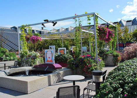 14 Relaxingly Beautiful And Productive Urban Rooftop Gardens