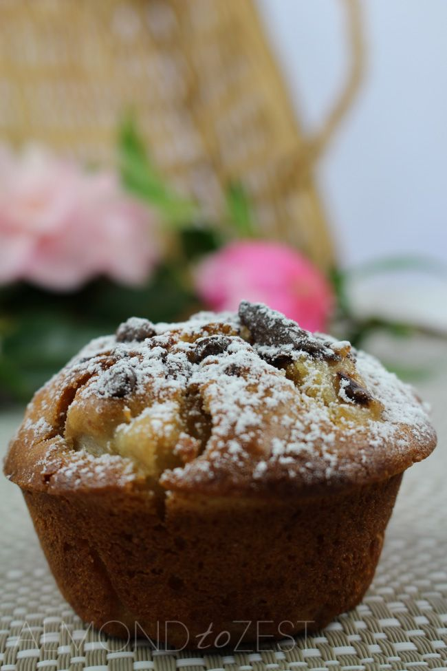 #healthy #recipe #muffins | almondtozest.com