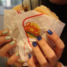Rocket single, en Johnny Rockets / Rocket single, at Johnny Rockets. #Chile #Hamburger