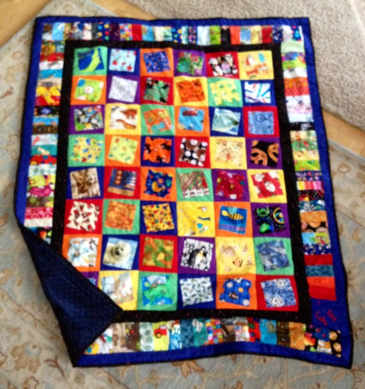 Thread: I Spy Quilts Completed for Grandsons for Christmas