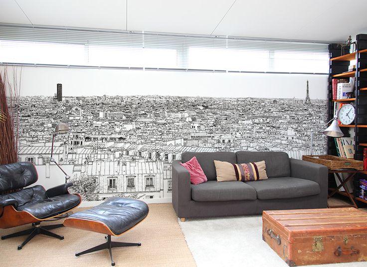 17 best images about papier peint original on pinterest. Black Bedroom Furniture Sets. Home Design Ideas