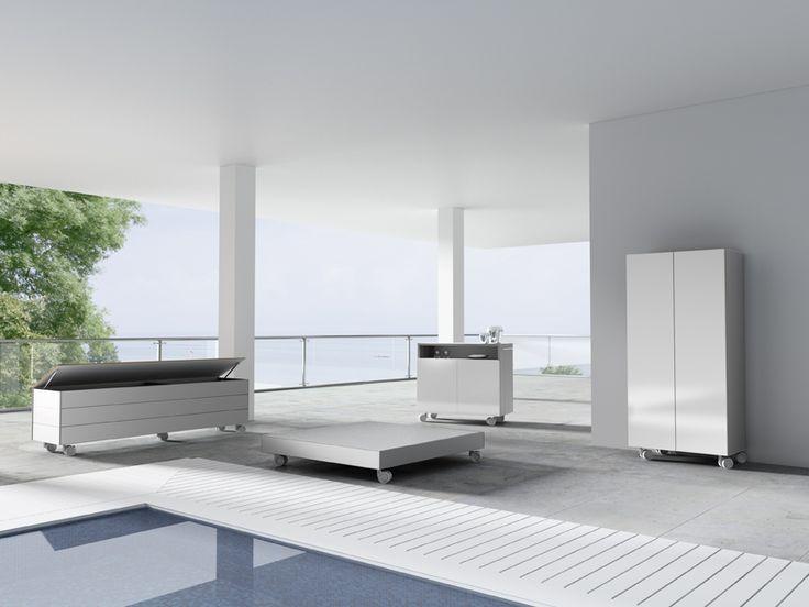 Mejores 14 im genes de muebles de exterior en pinterest for Muebles exterior aluminio