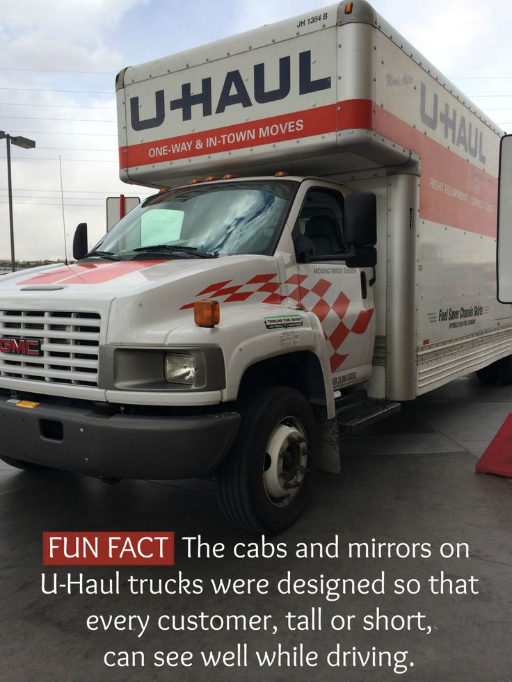 Big or small tall or short uhaul moving trucks are