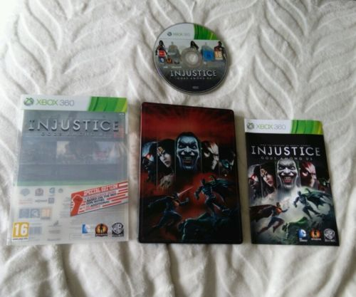 #Injustice gods among us #special #edition xbox 360,  View more on the LINK: 	http://www.zeppy.io/product/gb/2/272152181211/