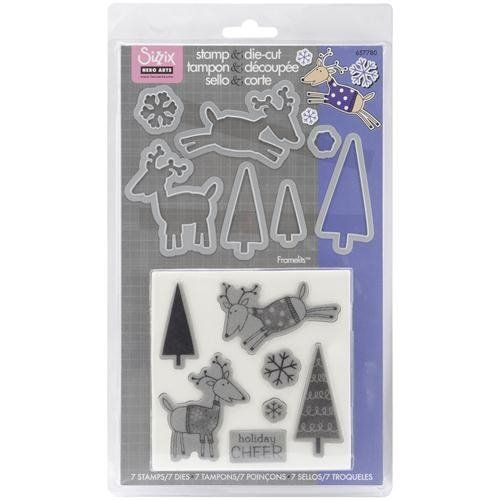Sizzix Framelits Die Set 7PK with Stamps - Reindeer by Hero Arts Sizzix,http://www.amazon.com/dp/B005F2ER8Y/ref=cm_sw_r_pi_dp_6mLxtb0JBPBGQ90X