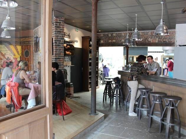 10ème - gare du nord - la pointe du grouin - taverne bretonne pas très cher et sympa