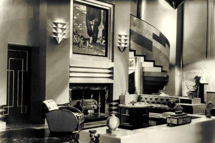 1930s hollywood set designs art deco s oversize elegance for 1930s interior designs