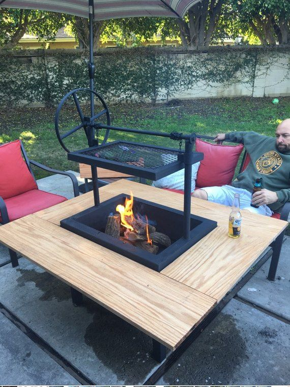 Fire Pits Ideas For A Comfortable Gathering Place Fogones Para