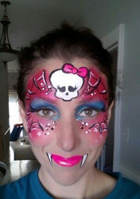 Original Monster High face paint