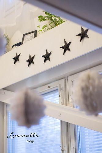 Origamistars / origamitähdet / scandinavian christmas / nordic christmas / christmas decor / scandinavian interior