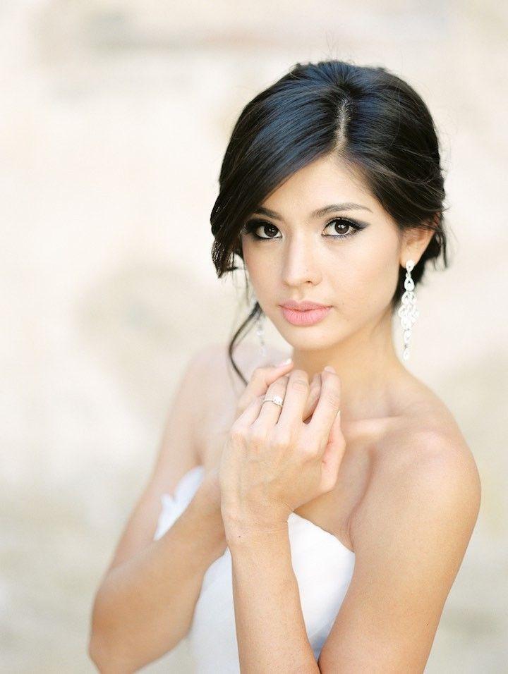 Incredible 1000 Ideas About Asian Wedding Hair On Pinterest Asian Bridal Short Hairstyles For Black Women Fulllsitofus