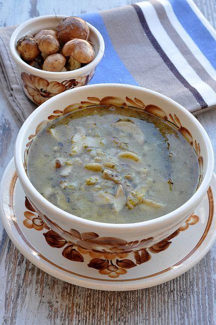 #thermomix Zupa z maślaków