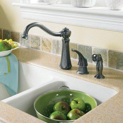 Moen Vestige 67315 Single Handle Kitchen Faucet With Side Spray $276.64