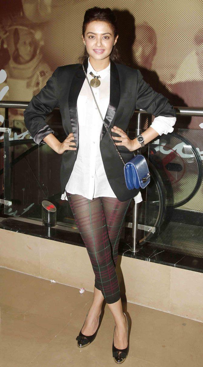 Surveen Chawla at special screening of 'Khamoshiyan'. #Bollywood #Fashion #Style #Beauty
