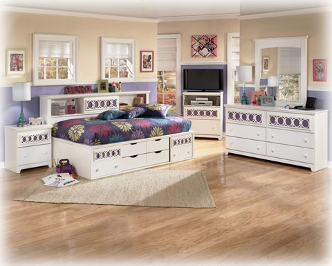 The Zayley Collection By Ashley Is A Perfect Way To Furnish A Bedroom. The  Color · Brothers FurnitureKid FurnitureBookcase ...