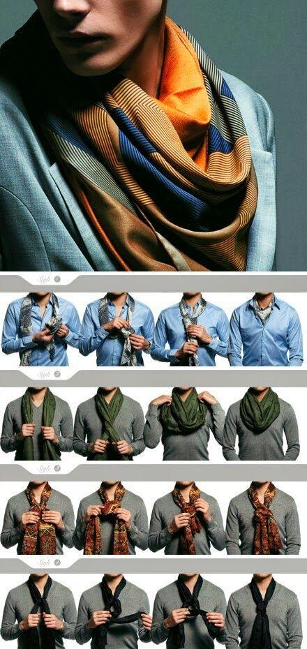 Consejos de moda: formas de ponerse una bufanda (Hombres) | El Blog De Akío
