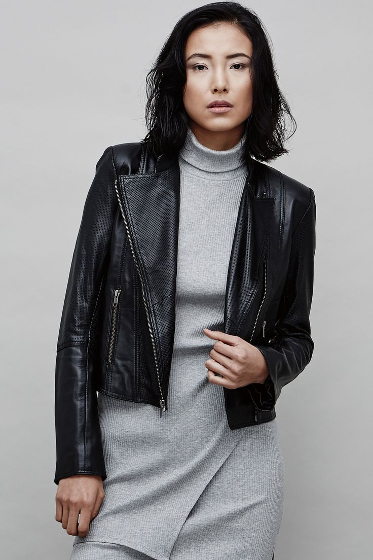 August Street - The Bandit Leather Jacket