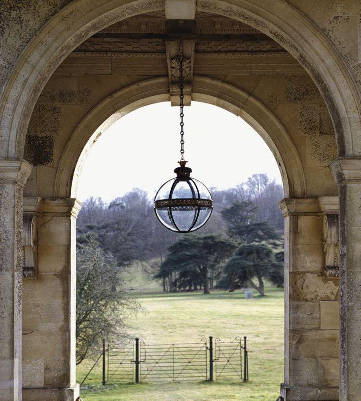 Original Globe Lantern ~ Jamb