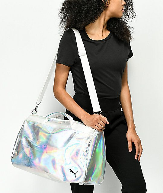 95142a6a5914 PUMA Uppercut Iridescent   Pastel Duffle Bag