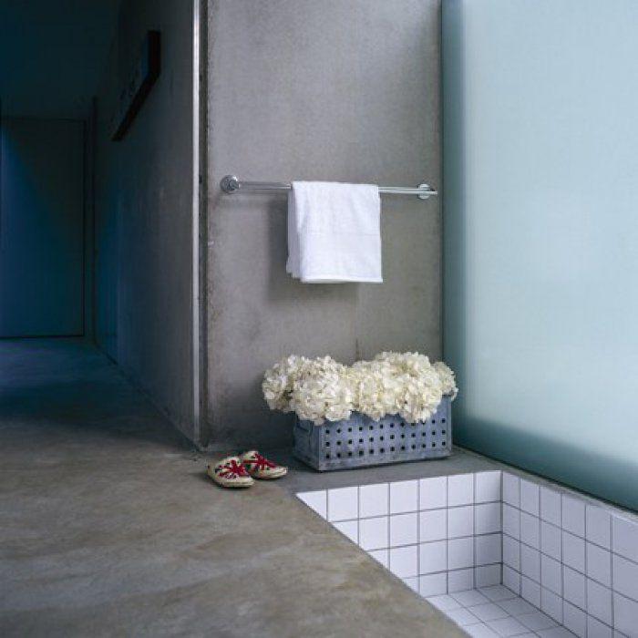 Die Besten 25+ Beton Badewanne Ideen Auf Pinterest Betonfliesen   Designer  Betonmoebel Innen Aussen